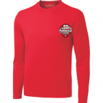 Brantford Galaxy ATC Pro Team Long Sleeve Tee-red
