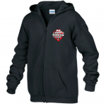 Brantford Galaxy Full Zip Hooded Sweatshirt Black
