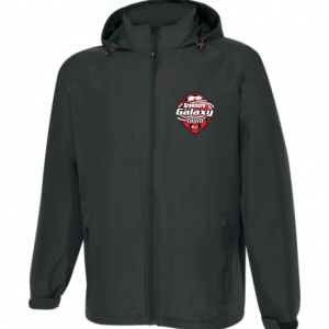 Brantford Galaxy Hooded Full Zip Rain Jacket