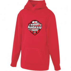 Brantford Galaxy sweatshirt - red