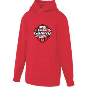 Brantford Galaxy sweatshirt - red