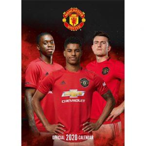 Manchester United 2020 Team Calendar 3
