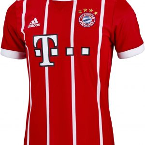 Bayern Munich Youth Home Jersey (17/18) 4