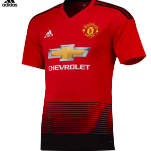 Manchester United Adult Home Jersey (18/19) 10