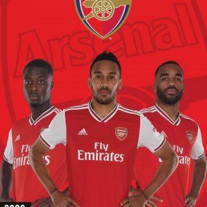Arsenal FC 2020 Team Calendar 10