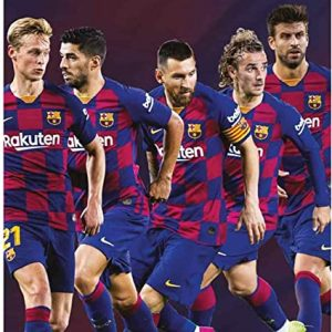 Barcelona 2020 Team Calendar 6