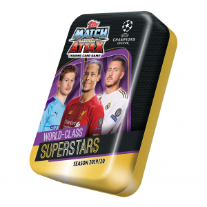 Champions League 2019/20 Card Mega Tin 6