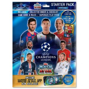 Champions League 2019/20 Card Starter Pack 4