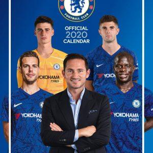 Chelsea FC 2020 Team Calendar 5