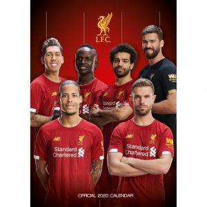 Liverpool FC 2020 Team Calendar 9