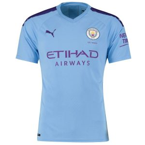 Manchester City (19/20) Youth Home Jersey 4