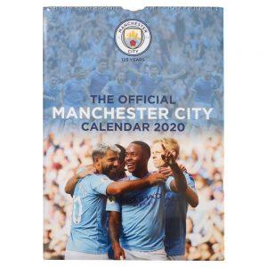 Manchester City 2020 Team Calendar 10