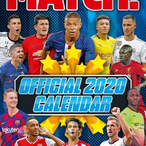 Match Top Players 2020 Team Calendar 12