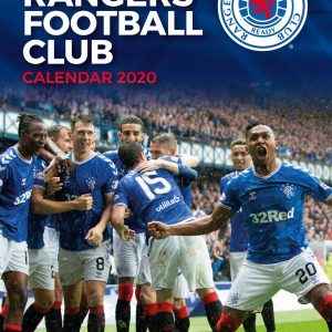 Rangers 2020 Team Calendar 12