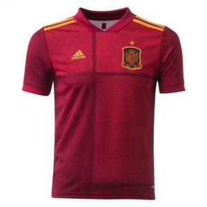 Spain Youth Home Jersey (2020) 14