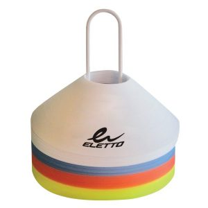 Soccer Disc Cones & Carrier 10
