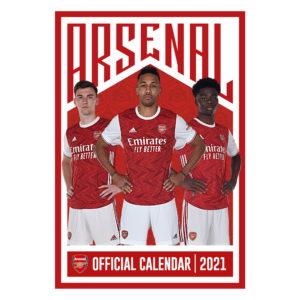 2021 Calendar - Arsenal 8
