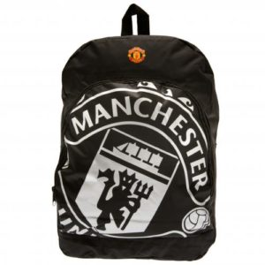 Small Backpack - Man United (Black) 7