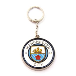 Crest Keychain - Man City 10