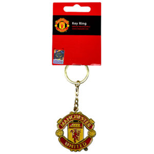 Crest Keychain - Man United 9