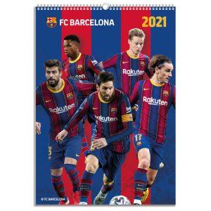 2021 Calendar - Barcelona 4