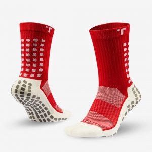 TRUsox Mid-Calf Cushion Sock (Red) 3