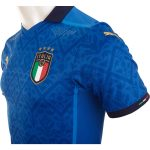 Italy 2020 Home Jersey side