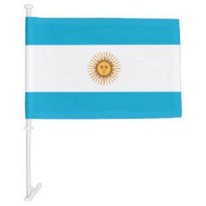 Car Flag - Argentina 4