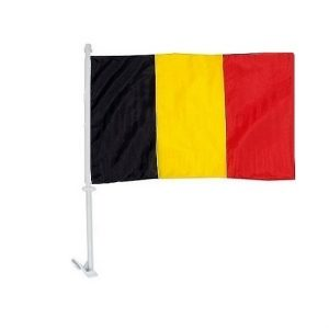 Car Flag - Belgium 5