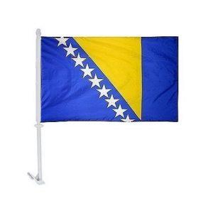 Car Flag - Bosnia 1