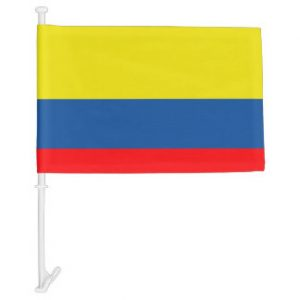 Car Flag - Colombia 1