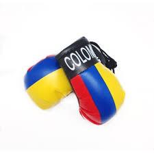 Mini Boxing Glove Set - Colombia 4