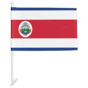 Car Flag - Costa Rica 1