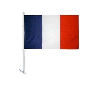 Car Flag - France 1