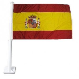 Car Flag - Spain 1