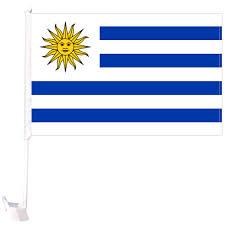 Car Flag - Uruguay 1