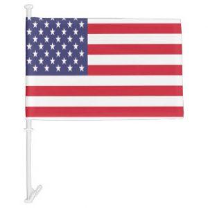 Car Flag - USA 1