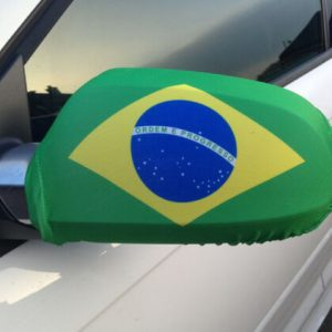 Car Mirror Cover - Brazil 3