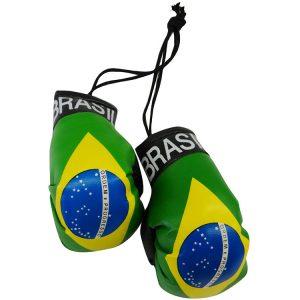 Mini Boxing Glove Set - Brazil 5