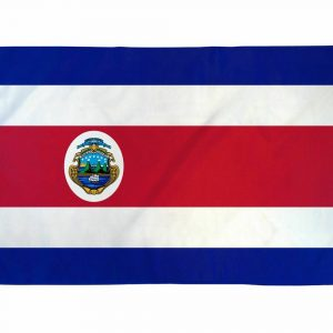 Country Flag (3 x 5) - Costa Rica 3
