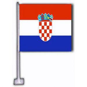 Car Flag - Croatia 1