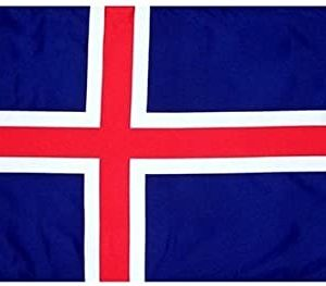 Country Flag (3 x 5) - Iceland 2