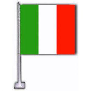 Car Flag - Italy 1