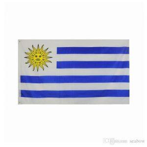 Country Flag (3 x 5) - Uruguay 2