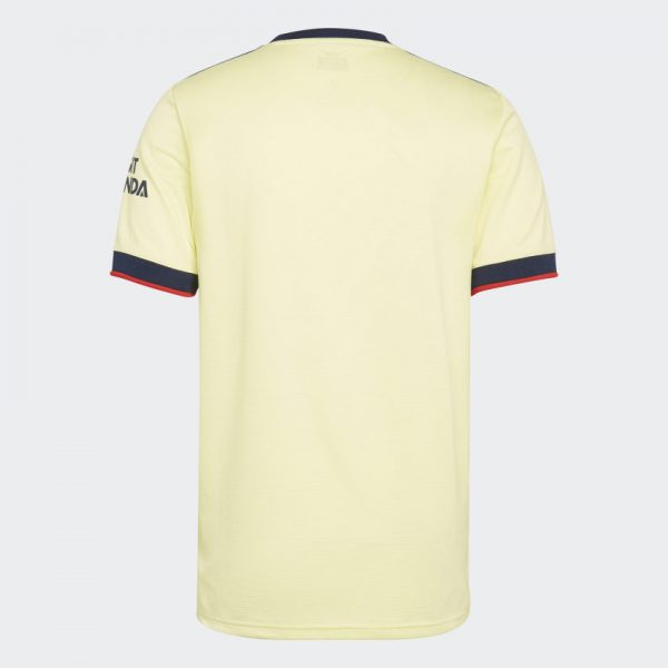 image of back of Arsenal Away jersey