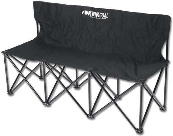 Image of KWIKGoal 3 seat collapsible bench