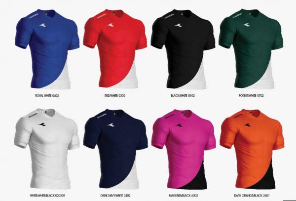 image of diadora seleccion jersey set