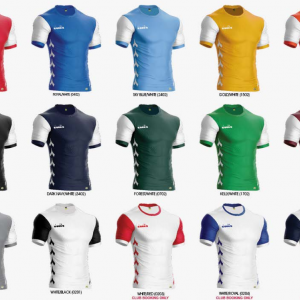 image of diadora venezia jersey set