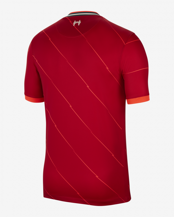 image of back of Liverpool Home jersey