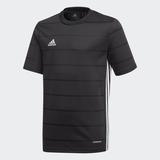 image of adidas campeon black jersey